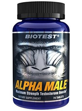 Biotest Alpha Male, 74 Capsules