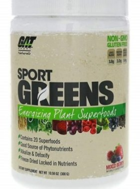 German American Technologies Sport Greens, Mixed Berry, 30 Serving