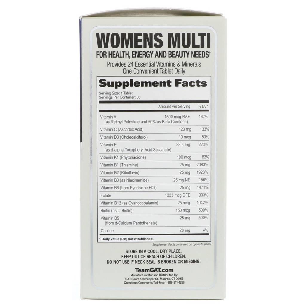 German American Technologies Women's Multi, 30 tablets