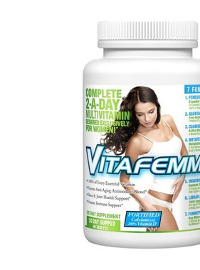 AllMax Nutrition VitaFemme Multivitamin 21Day 30 Tablets