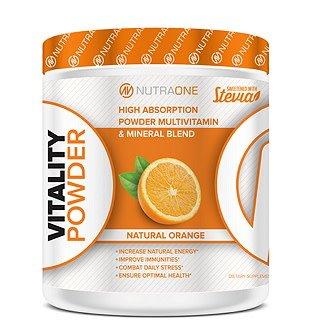 nutraone Vitality Powder, 30 servings, Natural Orange