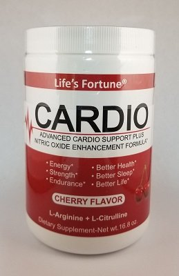 Life's Fortune Life's Cardio, Cherry, 30 servings