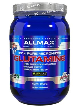 AllMax Nutrition Glutamine 1000G, 200 servings