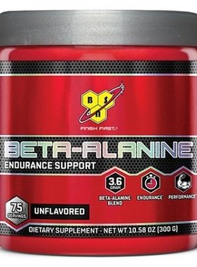 BSN Beta Alanine, Unflavored, 75 Servings