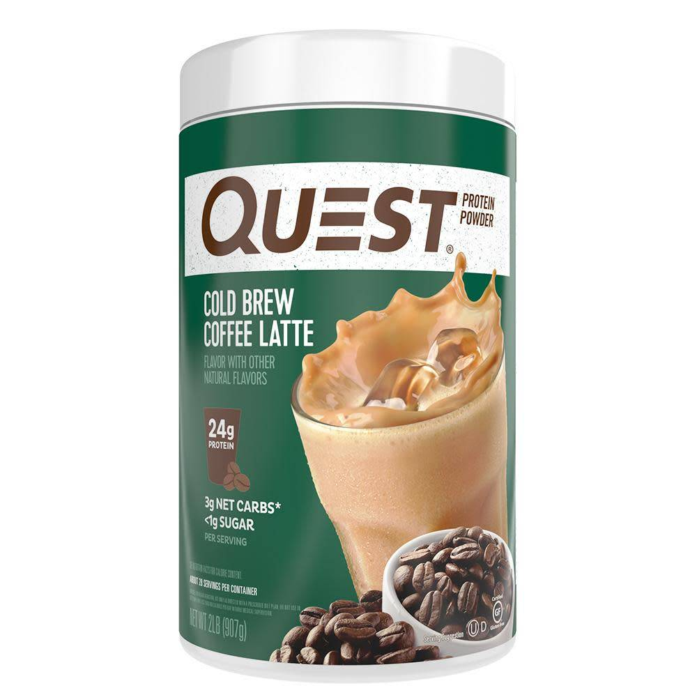 Quest Nutrition Quest Protein Powder, Cold Brew Coffee Latte, 28 servings