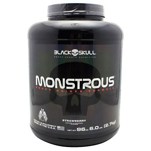 Black Skull Heavy Sports Nutrition Monstrous