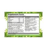 Naturelo Premium Supplements Raw Greens Whole Food Powder, Wildberry Flavor, 30 servings