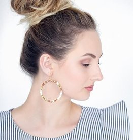 Stone & Stick Hopscotch Earrings
