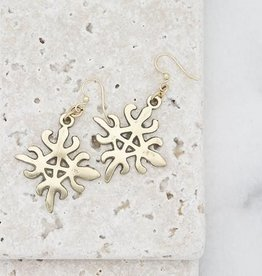 Stone & Stick Aflame Earrings