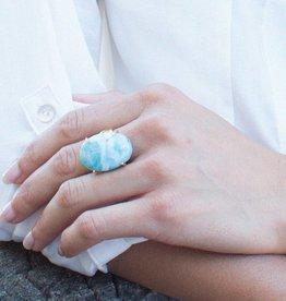 Taylor Kenney Larimar Prong Ring
