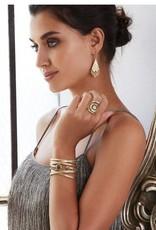 Anna Beck Grey Sapphire Saddle Ring