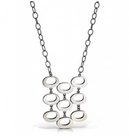 """Bree Richey Nine Marcia Necklace, 30"""" large chain"""