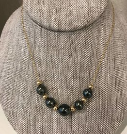 Erin Marcus Favorite Striped Shirt Necklace