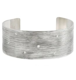 Michelle Simon Jewelry Horizon Cuff - Mist