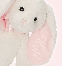 Bearington Baby Collection Pink Floppy Bunny