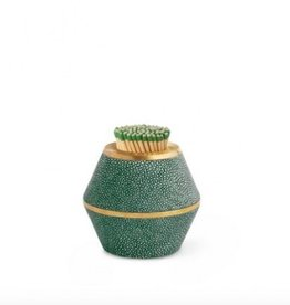 Aerin Emerald Shagreen Cone Match Striker
