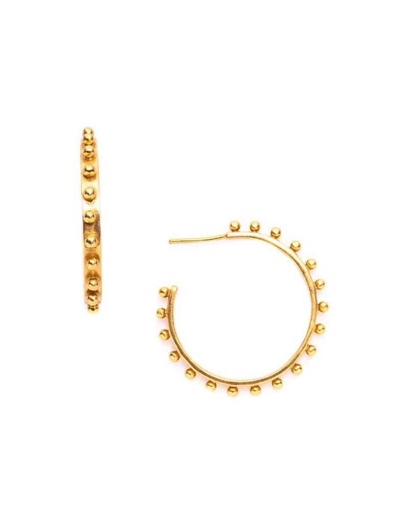 Soho Gold Hoop