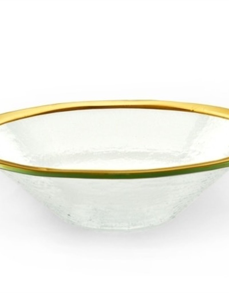 """Gold 15"""" Tossing Bowl"""