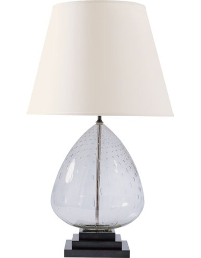 Miro Table Lamp in Seeded Glass