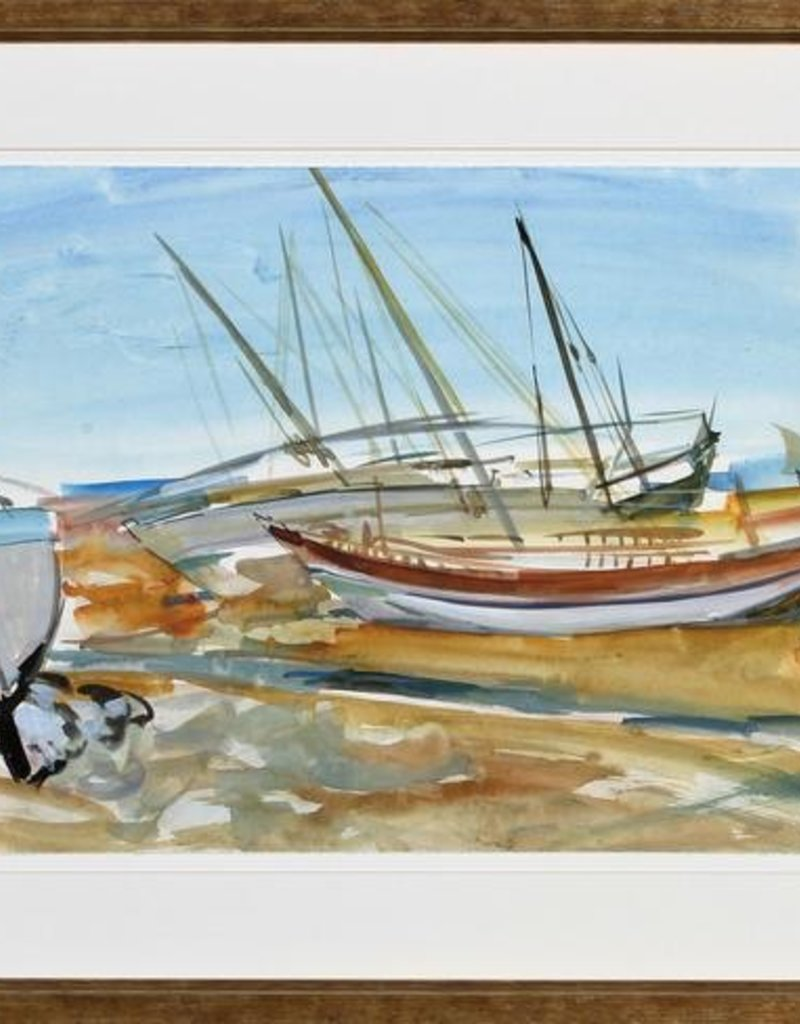 Watercolor Sails I