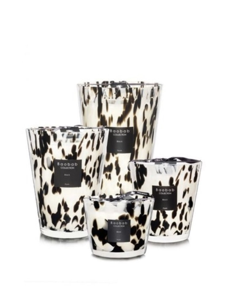 Black Pearls Candle, Large