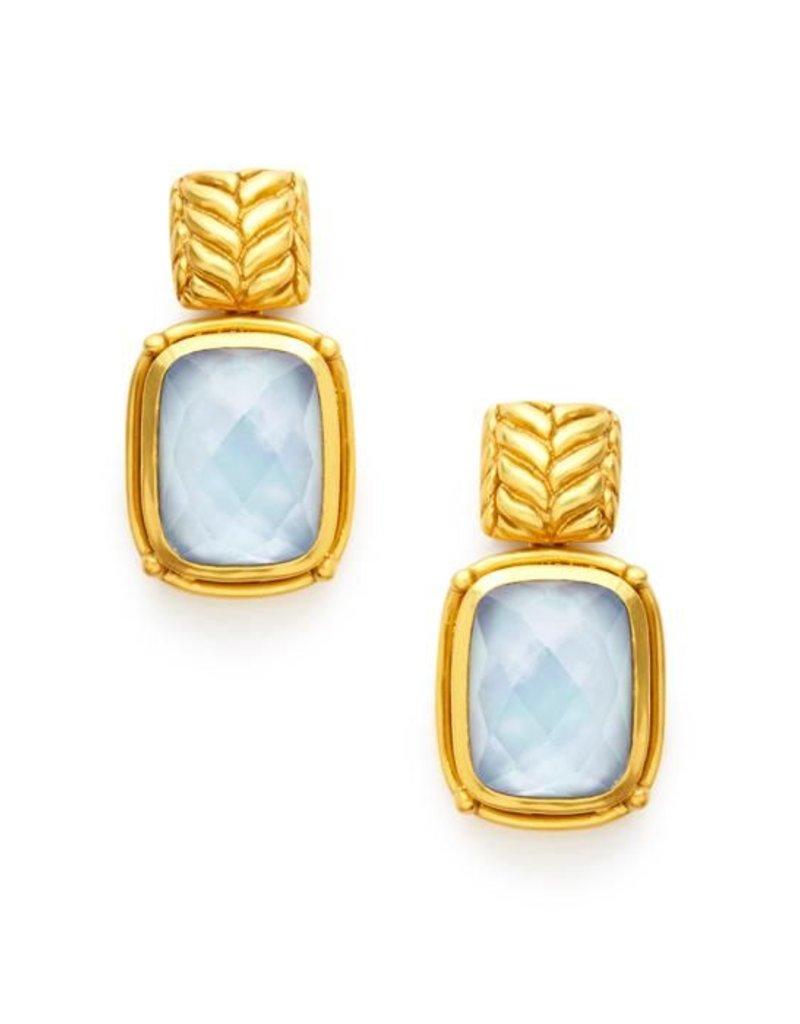 Monterey Earring Chalcedont Blue