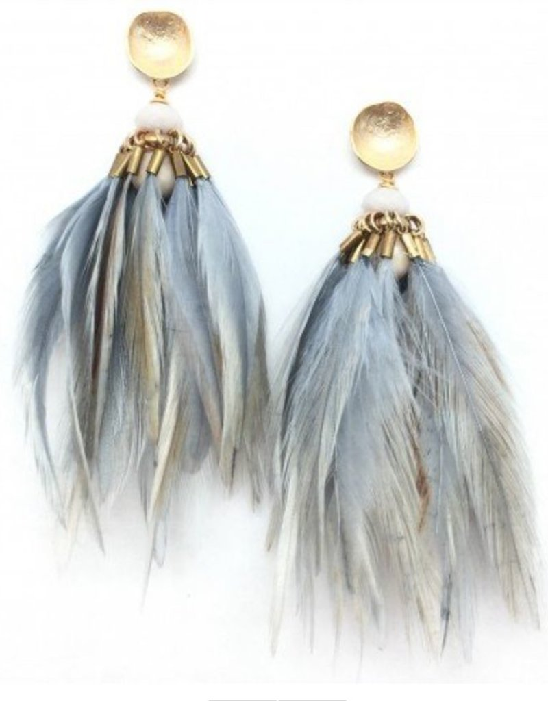 Brinson Feather Earring