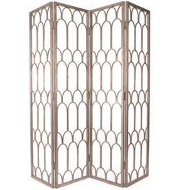 Dunand Screen in Antique Gold