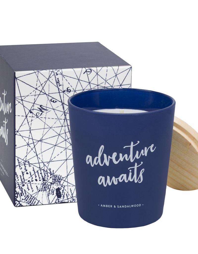 Amber and Sandlewood Candle