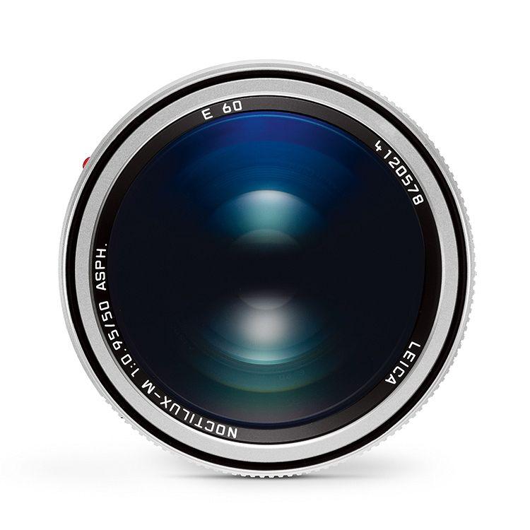 50mm / f0.95 ASPH Noctilux Silver Anodized (E60) (M)