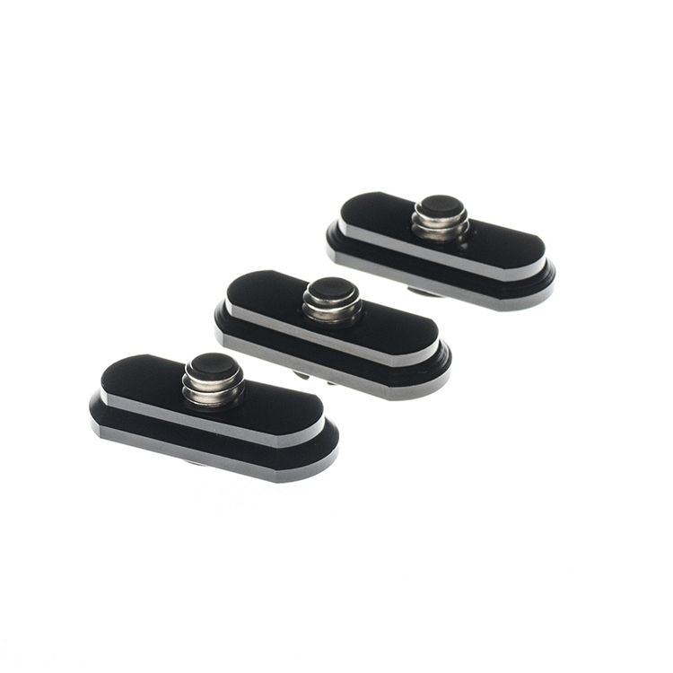 Set of 3 Exchangeable Mounting Plates for Ball Head 24/38