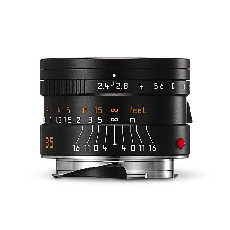 35mm / f2.4 ASPH Summarit Black (E46) (M)