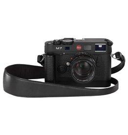 Camera Strap - Wide (Black Saddle Leather)