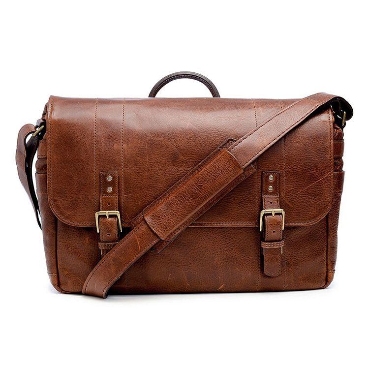 ONA: Leather Union Street Walnut Bag
