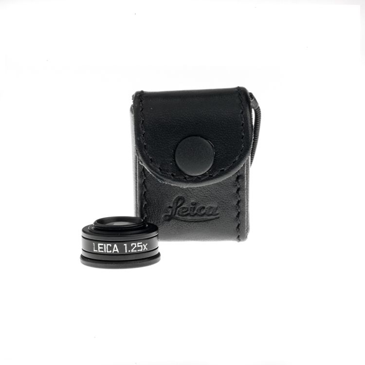 VF Magnifier 1.25x Black Anodized for M