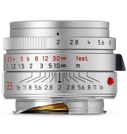 35mm / f2.0 ASPH Summicron Silver (E39) (M) (2016+)