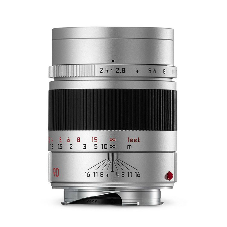 90mm / f2.4 Summarit Silver (E46) (M)