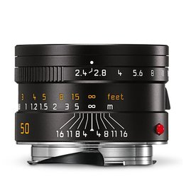 50mm / f2.4 Summarit Black (E46) (M)