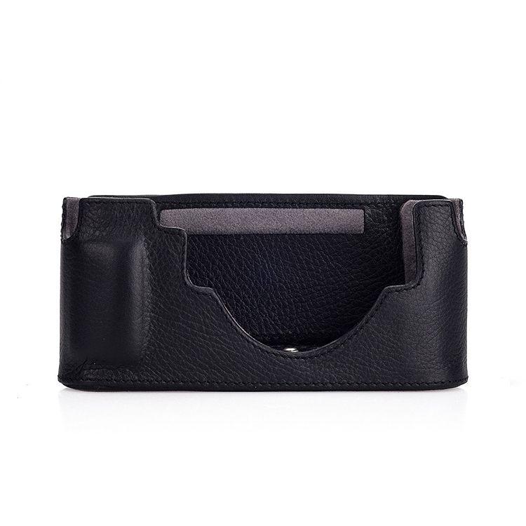 Camera Protector - (Half Case) Leather Black M10
