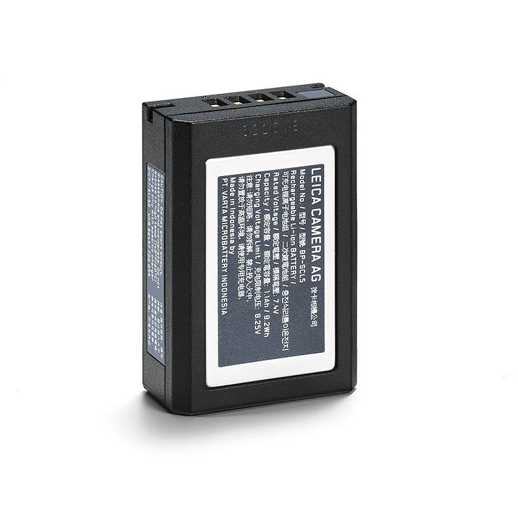 Battery: BP-SCL5 for M10
