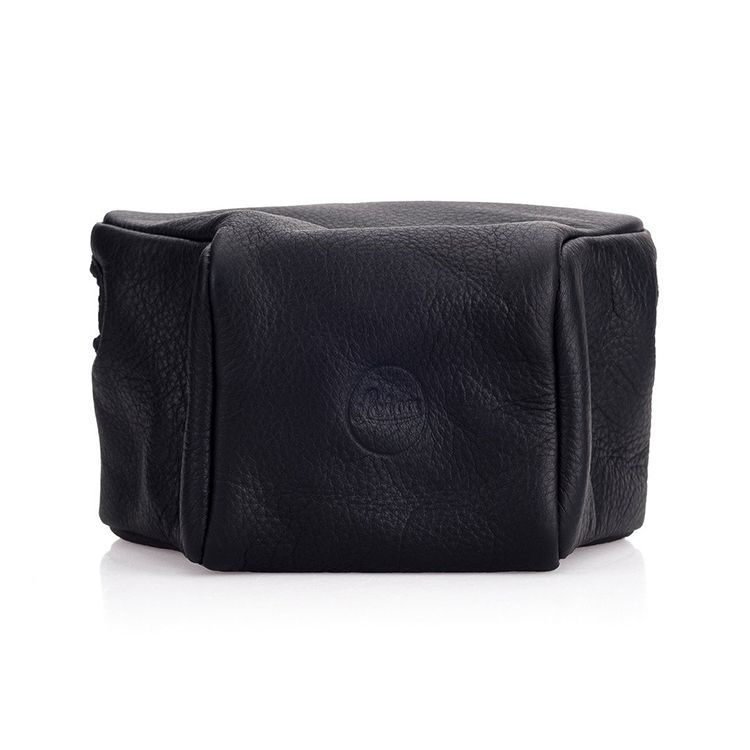 Leather Pouch Black Short M10