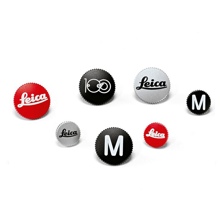 Soft Release Button '100' 12mm Black