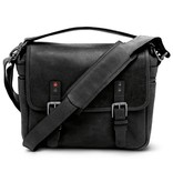 ONA for Leica: Leather Berlin II Black Bag