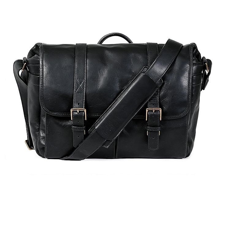 ONA: Brixton Leather Black Bag