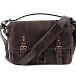 ONA: Prince Street Leather Dark Truffle Bag