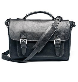 ONA: Brooklyn SLR Satchel Black Bag