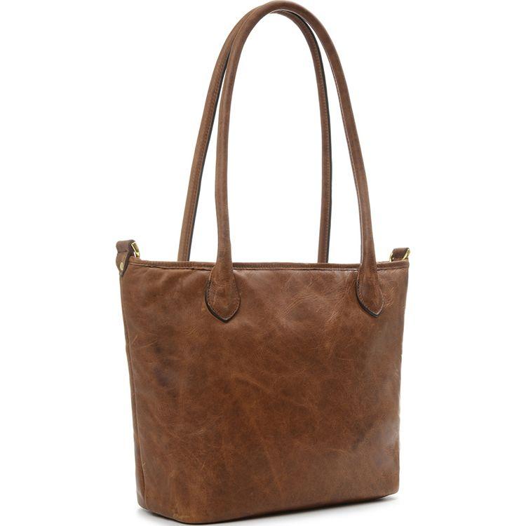 ONA: Capri Antique Cognac Bag