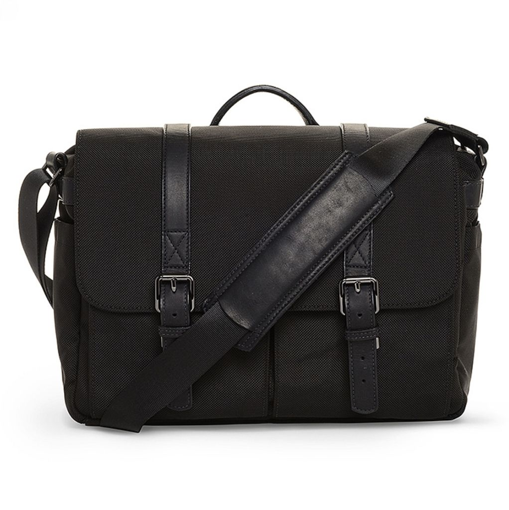 ONA: Brixton Nylon Black Bag