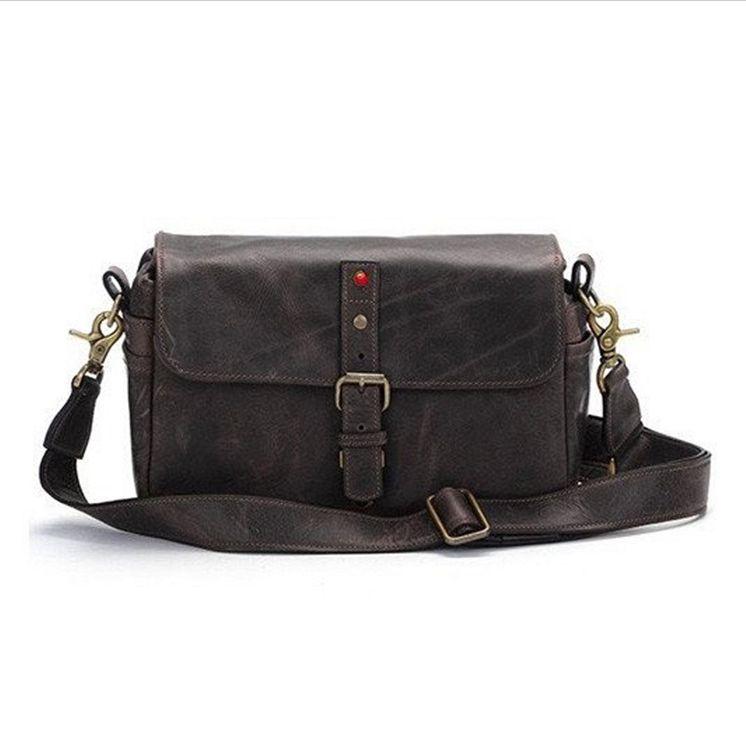 ONA for Leica: Bowery Leather Dark Truffle