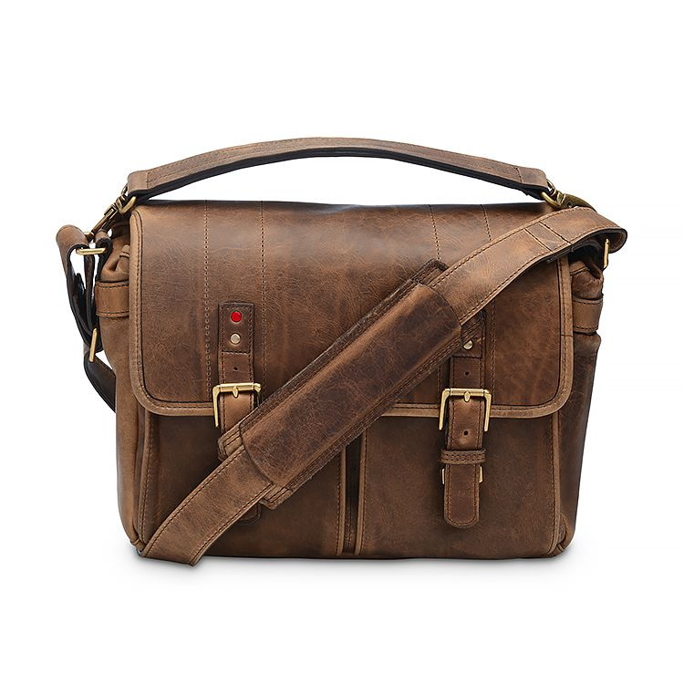 ONA for Leica: Prince Street Leather Antique Cognac Bag
